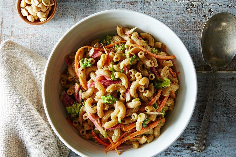 miso-peanut-pasta-salad-recipe